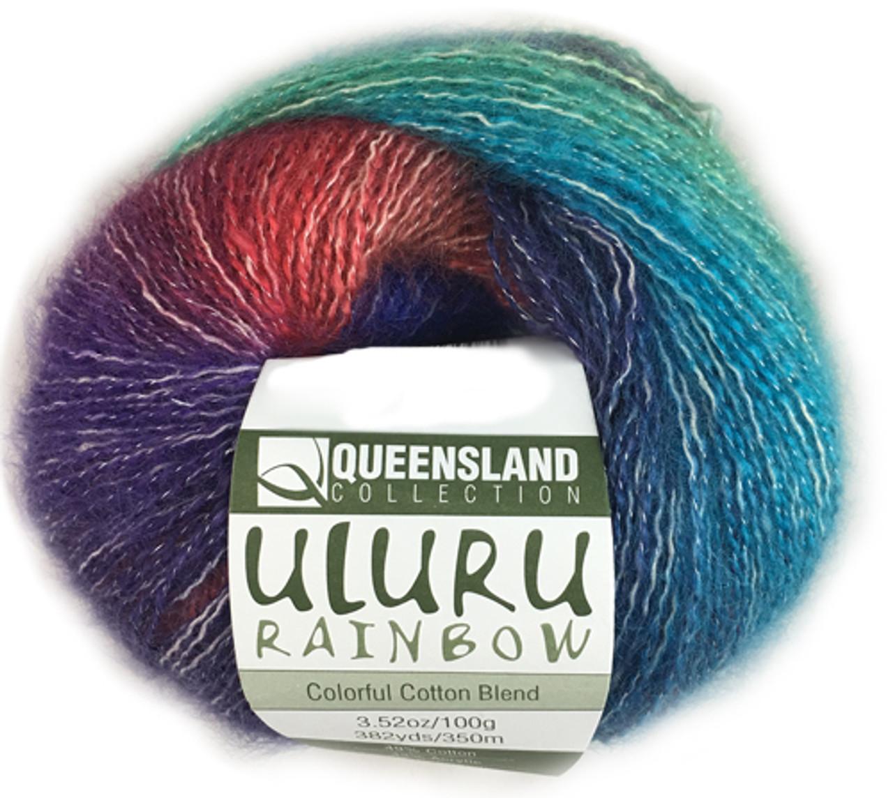 Queensland Yarn - Uluru Rainbow   Angelika's Yarn Store