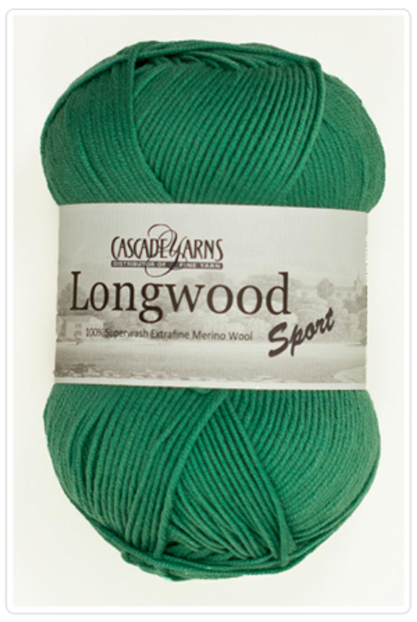 Cascade Longwood Sport - 100% Superwash Extra Fine Merino Wool