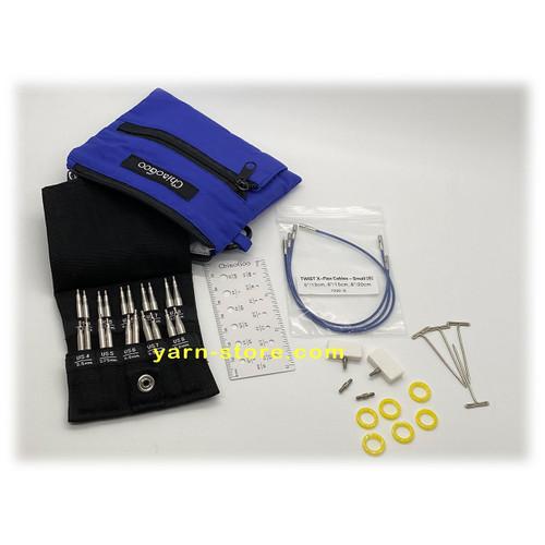 "ChiaoGoo Twist Blue Cable X-Flex Small 5/"",6/"" 8/"""