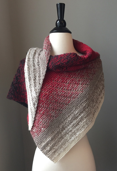Transient Shawl Pattern by Michelle Hunter, On Ravelry