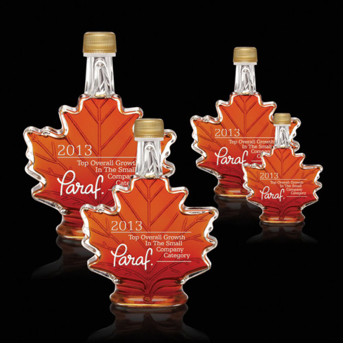 Maple Syrup - Maple Leaf - Deep Etch