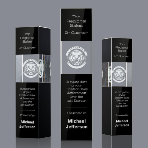 Araceli 3D Tower Award - Black