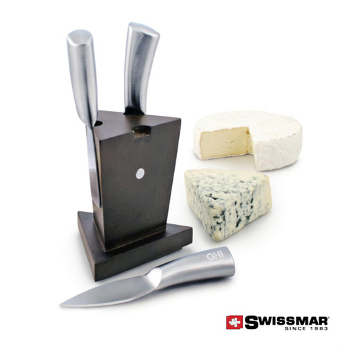 Swissmar® Mini Cheese Knife Block - 3pc