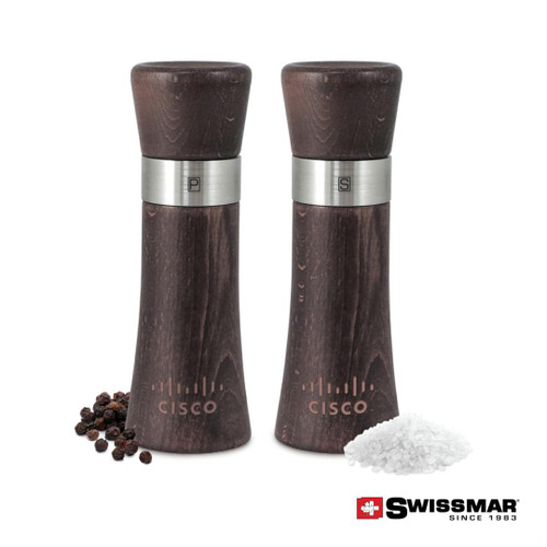 Swissmar® Milano Mill - Dark Beech Wood