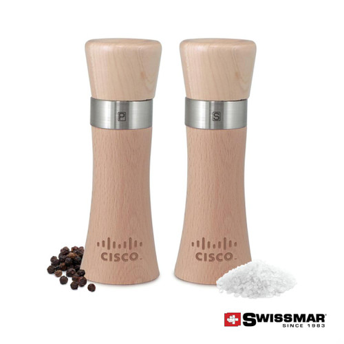 Swissmar® Milano Mill - Natural Beech Wood