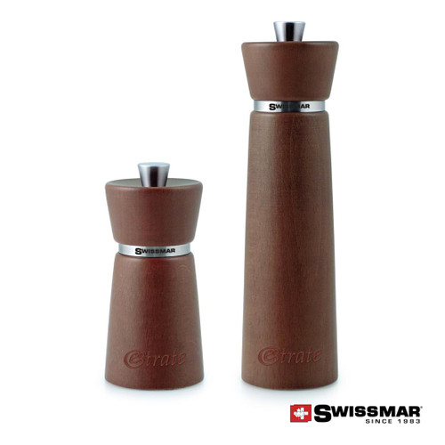 Swissmar® Hamburg Wood Mill - Chestnut