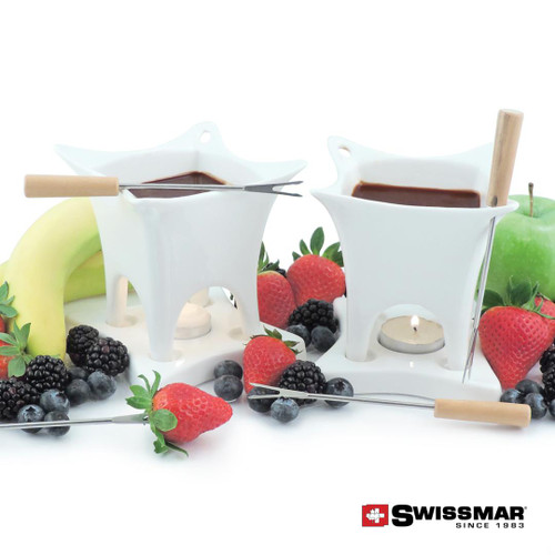 Swissmar® Harmony Chocolate Fondue Set - 10 pc