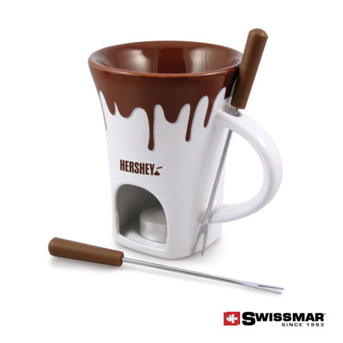 Swissmar® Nostalgia 4pc Chocolate Fondue Mug Set