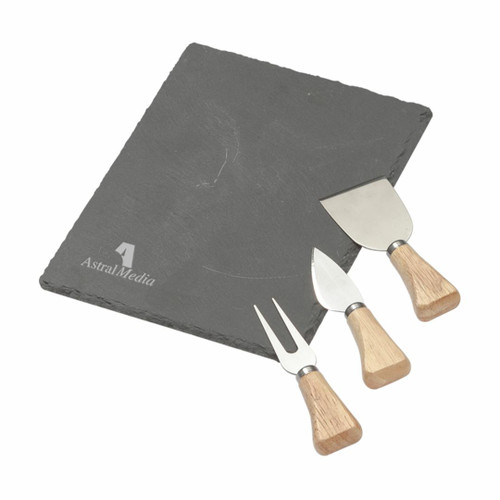 Maitre d' Slate Cheese Set - 4pc