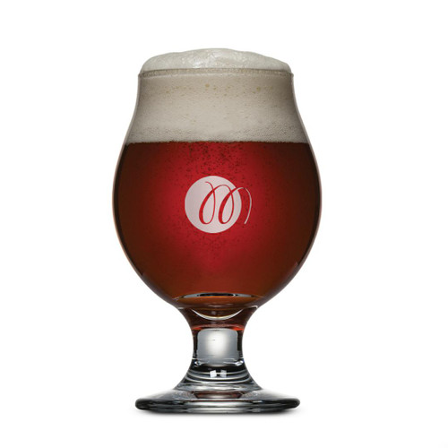 Belgian Beer Glass - Imprinted