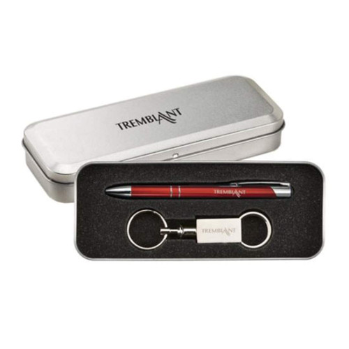 Clicker Pen/Keyring Gift Set