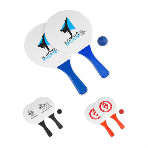 Leisure Paddle Bat Set - 3pc