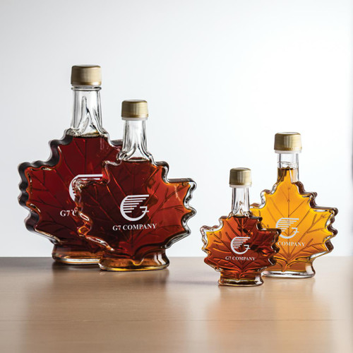 Maple Syrup - Maple Leaf - Imprinted