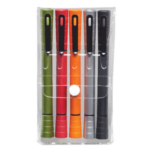 Double Pen/Highlighter 5pc Gift Pack (Specify Colo