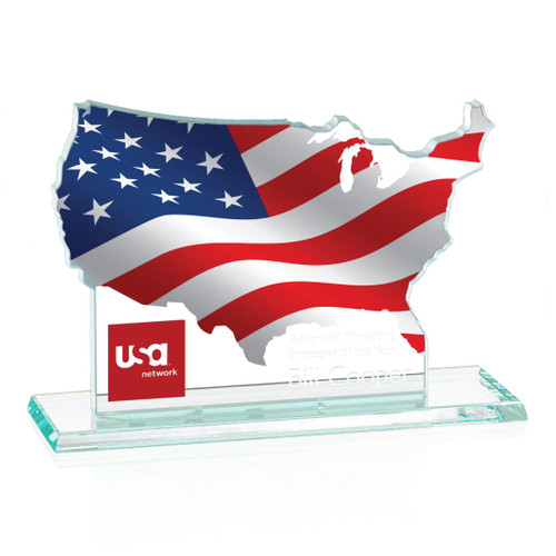 Map of USA Award