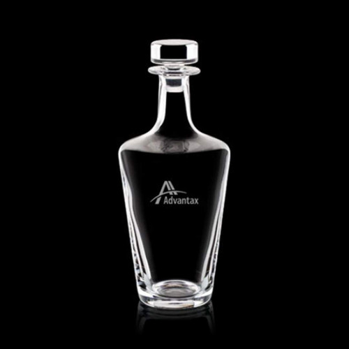 Frazier Decanter - 25oz Crystalline