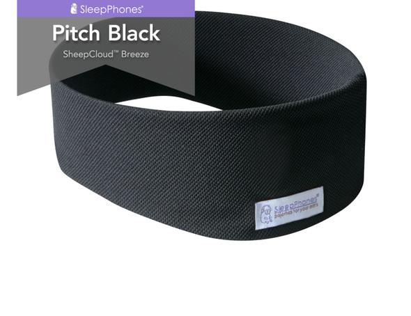 SleepPhones Breeze in Pitch Black