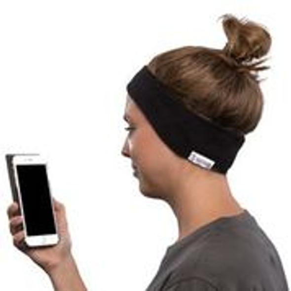 SleepPhones Breeze in use