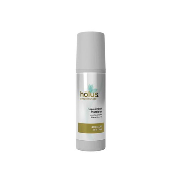 hōlus pure premium CBD topical muscle relief gel roll-on