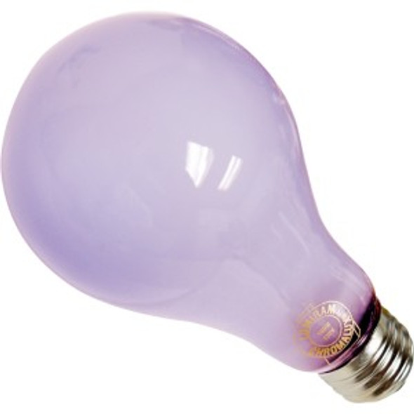 Chromalux 100 watt Frosted Bulb