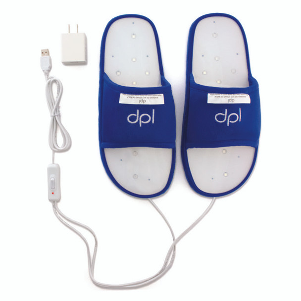 dpl® Foot Pain Relief – Infrared / RED Light Therapy Slippers