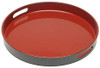 Serving Tray - Red and Black