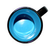 Capital Teas Mug - Black/Blue