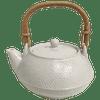 Kotobuki Ceramic Teapot with Bamboo Handle