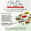 Tea Case Sale (Limited Time only)