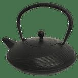 Striped Cast Iron Teapot