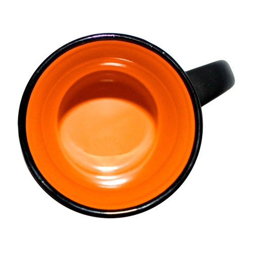 Capital Teas Mug - Black/Orange