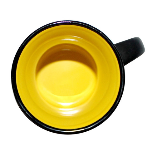 Capital Teas Mug - Black/Yellow