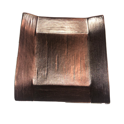 Japanese Ceramic/Metallic Small Square Serving Plate