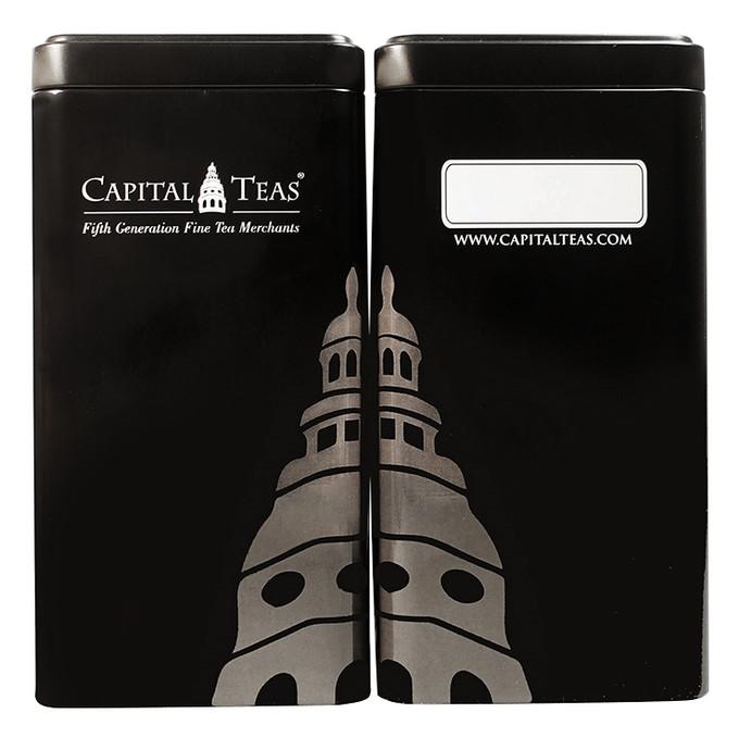 """Capital Teas Tin (3.5"""" x 3.5"""" x 6.875"""")"""