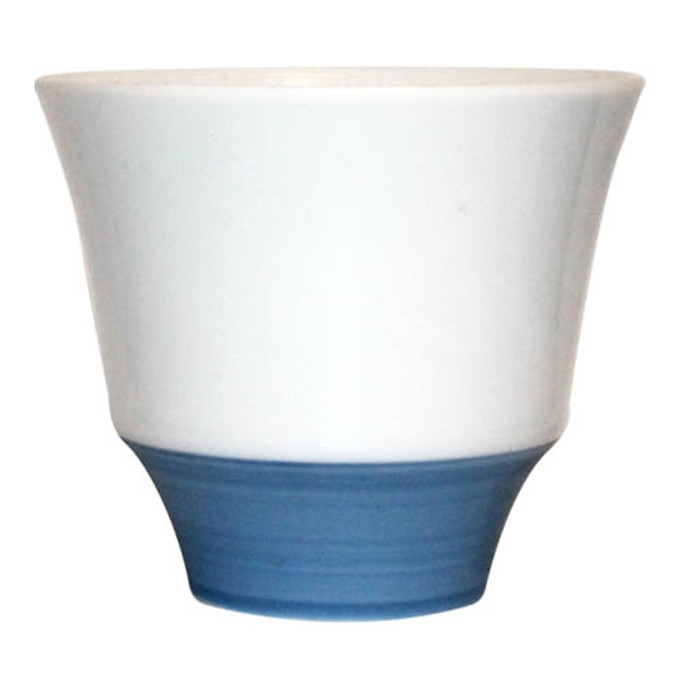 Blue Dipped Cup