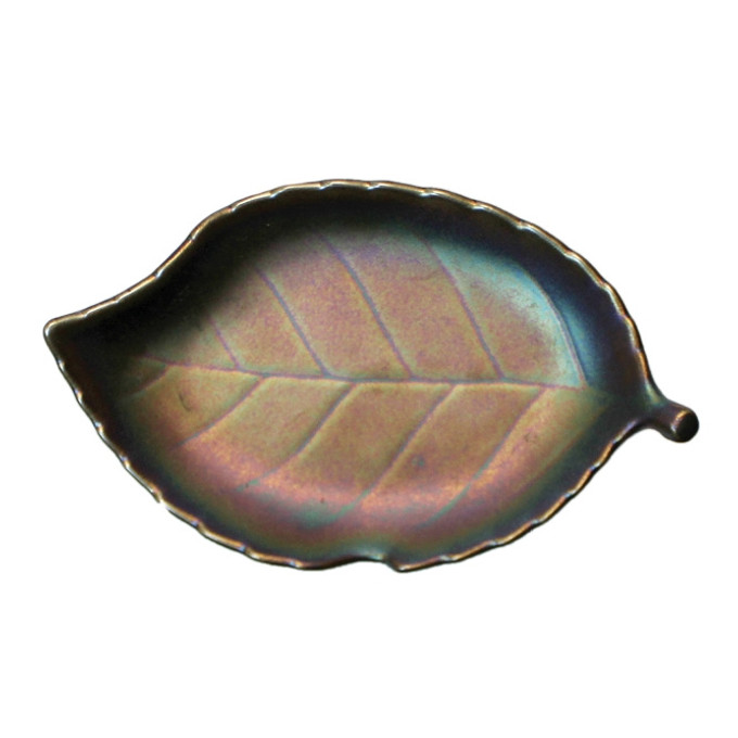 Rainbow Leaf Coaster