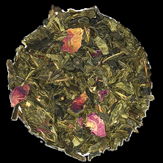 Jazz Berry Green: Cherry Blossom Rose + Jasmine Gold Dragon