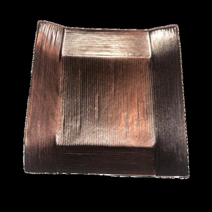 Japanese Ceramic/Metallic Small Square Serving Plate