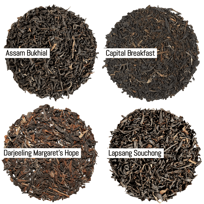 Tea Flight - Classic Black Teas