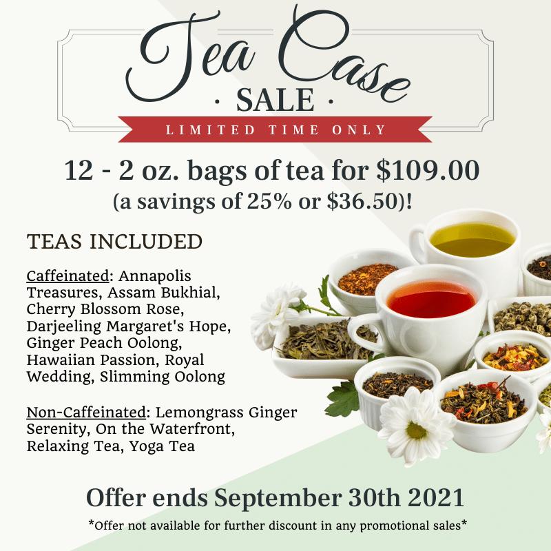 Tea Case Sale