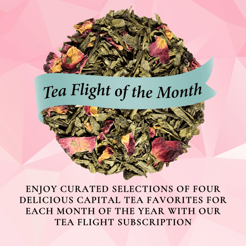 Tea Flight of the Month