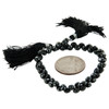 Black Spinel Faceted Teardrop Beads for Jewelry Making