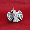 Sterling Silver Turquoise Gemstone Pendant