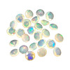7mm Round Opal Faceted Cut Gemstone