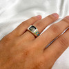 Turquoise Gemstone Sterling Silver Ring