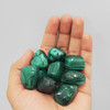 Green Malachite Tumbled Stones