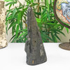 Self Standing Black Amethyst Crystal Church Cathedral Geode