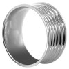 Stainless Steel Engravable 10mm Band