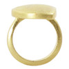 Gold Plated Designer Scratch Style Ring