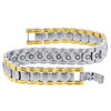 Stainless Steel Unisex Magnetic Therapy Bracelet